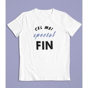 Tricou Personalizat Barbati - Cel mai special fin - 49 RON - 1