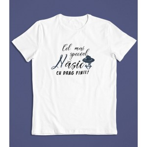 Tricou Personalizat Barbati - Cel mai special nasic - 49 RON - 1