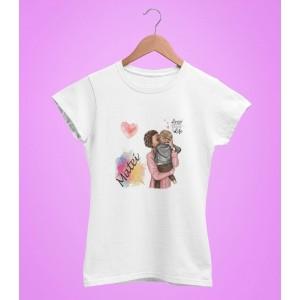 Tricou Personalizat Femei - Mom Life - Boy - Nume - 49 RON - 1