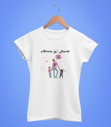 Tricou Personalizat Femei - Queen Mom - Nume - 49 RON - 1