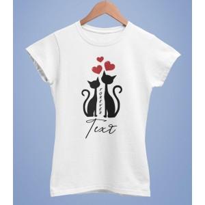 Tricou Personalizat Femei - Cats Love - 49 RON - 1